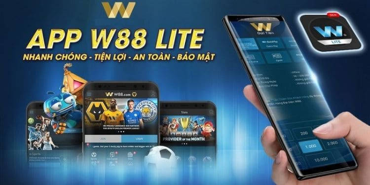 ứng dụng W88 mobile