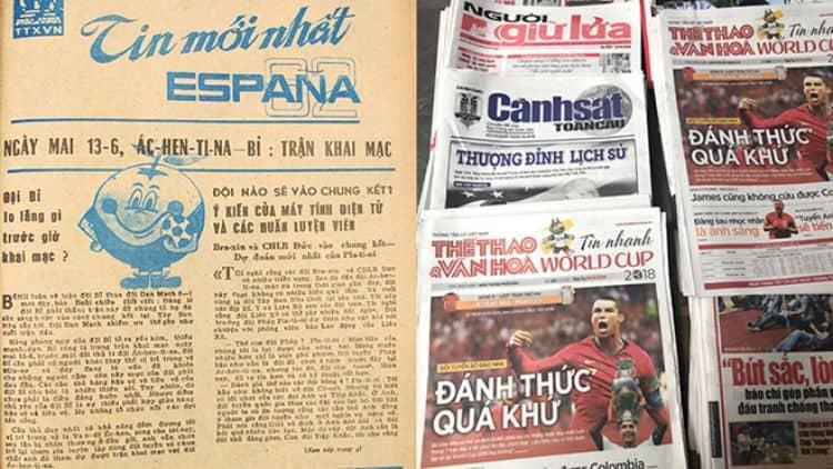 báo bóng đá