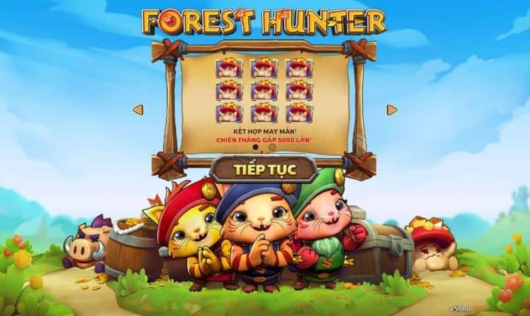 chơi Forest Hunter Slot tại W88